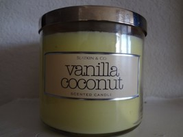 Bath and Body Works Slatkin & Co.VANILLA COCONUT Scented Candle 14.5 oz - $113.99