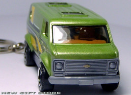 Key Chain 1971~1996 Green Chevy Van G10/G20 Chevrolet New Custom Limited Edition - $34.98