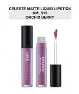 KISS NEW YORK PROFESSIONAL CELESTE MATTE LIQUID LIPSTICK KMLS15 ORCHID B... - $4.84