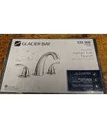 Glacier Bay Builder 2-Handle Deck-Mount Roman Tub Faucet Chrome 533-305 ... - $68.81