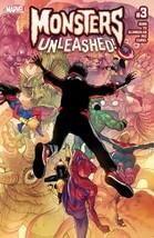 Monsters Unleashed (2017 Vol.1) #3 Marvel Comic Book Comics Digital Cont... - $7.67