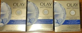 x3 Olay Daily Facial 5in1 Deeply Purifying Clean 33 Ct Water Activate Dry Cloths - $29.02