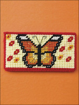 Checkbook Covers Plastic Canvas Patterns Designs Book Butterfly Eagle Lighthouse - $5.93