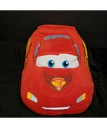 Disney Pixar Lightning McQueen 95 Car Plush Stuffed Animal Red Kohl's Ca... - $15.83
