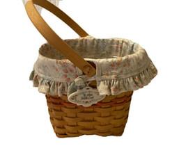 Longaberger 2000 Mothers Day Vintage Blossoms Basket Protector Liner - $22.00
