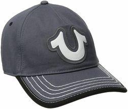 True Religion Men's Cotton HorseShoe Adjustable Baseball Trucker Hat Cap TR1989 image 4