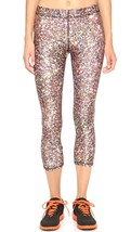 Terez Women's Performance Capri Leggings, Multi Glitter-493