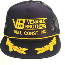 Venable Brothers Well Construction Inc Trucker Hat Baseball Cap Mesh Sna... - $7.91