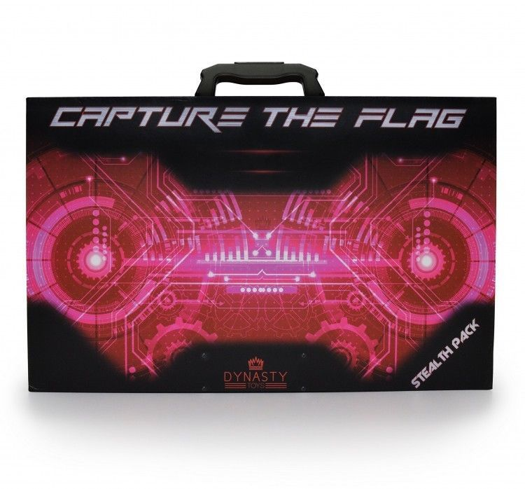 Laser Tag Gun Set Glow In The Dark Party Flag Capture Night Game Christmas Gift