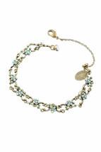 Bracelet en laiton Michal Negrin cristaux de Swarovski # 100171880003 - $103.76