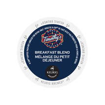 Timothy's Breakfast Blend Coffee, 72 count K cups, FREE SHIPPING  - $51.99