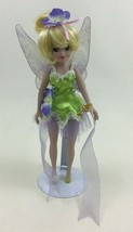 "Tinker Bell Fairy Disney Princess Brass Key 9"" Porcelain Doll with Stand... - $22.23"