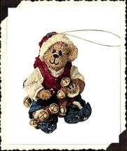"""Boyds Bearstone Ornament- """"Jingles..Ring In The Cheer"""" - #25733- 1E-New- Retired - $18.99"""