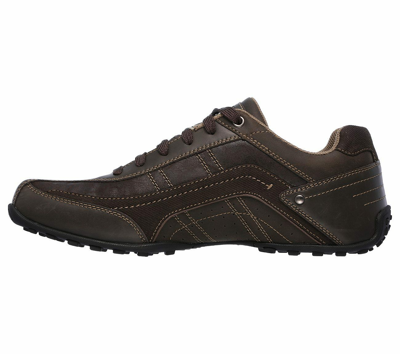Men's Skechers Citywalk - Elendo Casual Shoes, 64932 /CHOC Sizes 8-14 Chocolate image 5