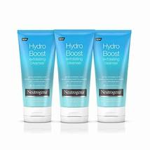 Neutrogena Hydro Boost Gentle Exfoliating Facial Cleanser, 5 fl oz (Pack... - $32.96