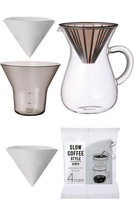 1.1 Liter Carafe Coffee Set with 80 Filters by Kinto (60 Extra Filters I... - $42.08
