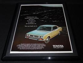 1971 Toyota Mark II Framed 11x14 ORIGINAL Vintage Advertisement - $44.54