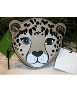 Kate Spade Leopard Coin Purse Run Wild WLRU5025 Sequins Animal NWT Mini Handbag - $39.00