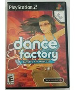 Dance Factory Dance to any Music CD PS2 Game Playstation 2 - $5.89