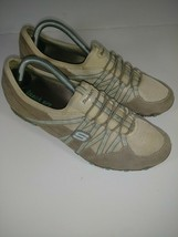 Skechers Womens Biker size 9.5 Relaxed Fit Breathe Easy Good Life Sneake... - $39.59