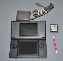 Nintendo DS Lite Console & AC Adapter Game Bundle (Nintendo, 2006) Blue/... - $42.75