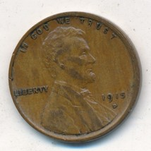 1915-D LINCOLN WHEAT CENT-SEMI KEY DATE-VERY NICE CIRCULATED-SHIPS FREE!... - $25.95