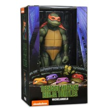 "NECA TMNT Teenage Mutant Ninja Turtles 1990 Movie 7"" Action Figure Miche... - $42.74"