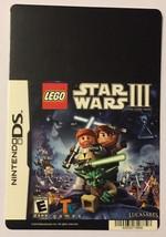 Nintendo DS Lego Star Wars III Blockbuster Artwork Display Card - $5.00