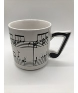 Chadwick-Miller, Inc. 1984 Item No. 96197 Musical Notes Coffee Cup Tea K... - $12.99