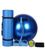 Yoga Set (3Pcs) Yoga Mat Yoga Ball Sport Fitness Home Exercise - $53.00