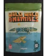 Wild Wild Animals Smart Links Alligator Wendys Kids Meal Toy New In Pack... - $10.84