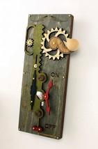 Green Tree Jewelry Single Rack & Pinion Dark Green Wood Light Switch Pla... - $34.99