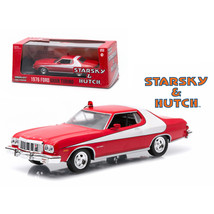 1976 Ford Gran Torino Red Starsky and Hutch (1975-1979) TV Series 1/43 D... - $29.45