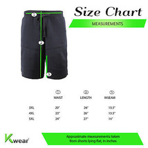 Men's Fleece Drawstring Elastic Waist Two Tone Sport Fitness Gym Sweat Shorts image 2