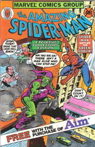 the Amazing Spider-Man Comic Book Aim Toothpaste Giveaway 1980 NEAR MINT UNREAD - $13.54