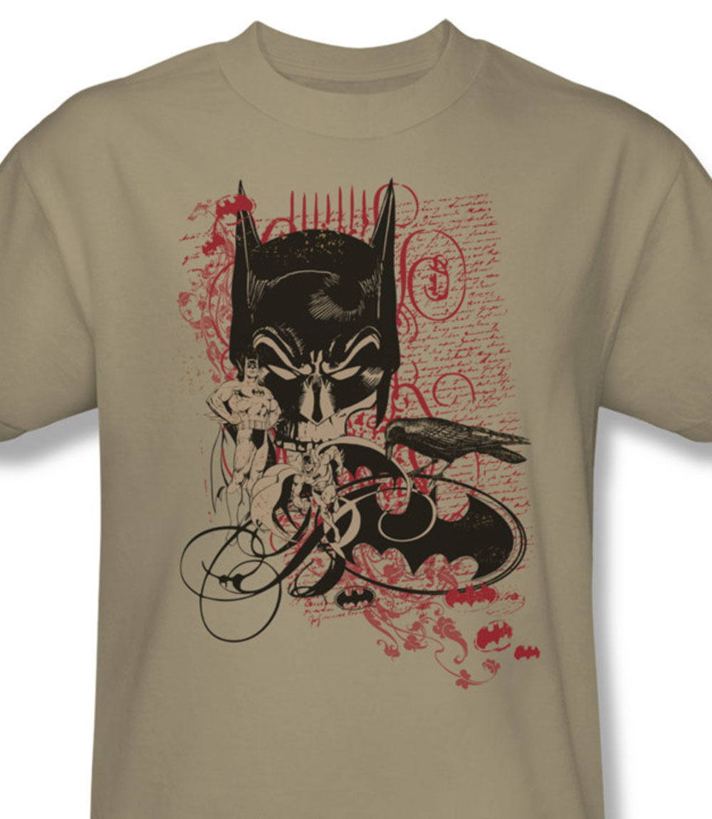 0 at retro batman dc comics the dark knight gotham city for sale online beige comics graphic tee