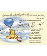 Winnie the Pooh Baby Shower invitation Baby Boy Baby Shower Invitation  - $9.99+