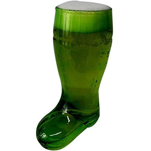 Barraid Beer Boot Glass 650 ml (Green)