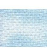 ** Clear Sky 14ct Hand Dyed Fabric 9x12 cross stitch fabric Stoney Creek - $5.65