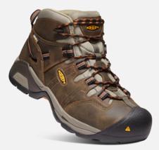 Keen Detroit XT Taille US 10.5 M (D) Eu 44 Homme Wp Souple Orteil Travail Shoes image 2
