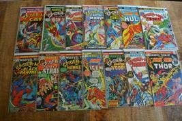 Marvel Team-Up #8-10 #16-26 Lot of 14 Comics Spider-Man Doctor Strange - $144.94
