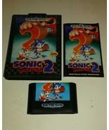 Sonic the Hedgehog 2 (Sega Genesis, 1992) Complete - $13.98