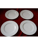 Mikasa Classic Flair white set of 4 salad plates - $19.75