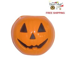 """Totally Ghoul Porch Light Cover 10"""" Pumpkin Halloween Party Tabletop Dec... - €12,60 EUR"""
