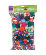 Chenille Kraft Company Pom-Poms, Assorted Sizes, Assorted Colors, Box Of... - $29.28