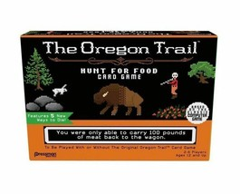 The Oregon Trail Hunt For Food Card Game - Family Game New sealed - $13.27