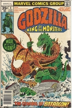 (CB-50) 1977 Marvel Comic Book: Godzilla - King of the Monsters #4 - $10.00