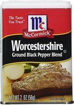 McCormick Worcestershire Ground Black Pepper Blend, 2 oz Tin - €15,21 EUR