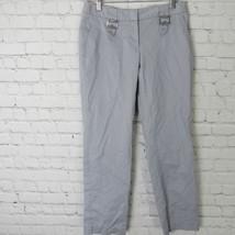 Michael Kors Pantalones Mujer Talla 4 Gris Gris - $19.37