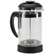 Trudeau Maison Kaffeepresse, Stempelkanne aus Borosilikatglas mit - $36.97